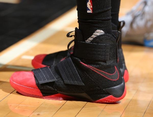 ba4c11a0f683 Tristan Thompson shoes  Nike Lebron Soldier 10