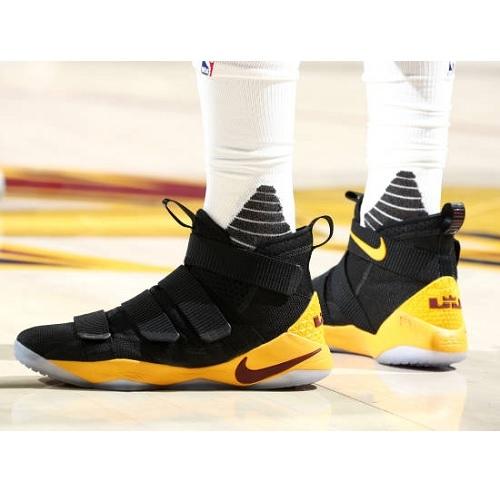 36e9e4f72755 Tristan Thompson shoes  Nike LeBron Soldier 11